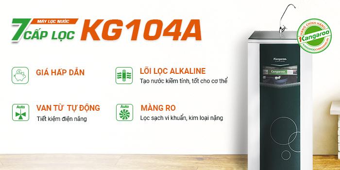 Máy lọc nước 7 cấp lọc Kangaroo KG104A