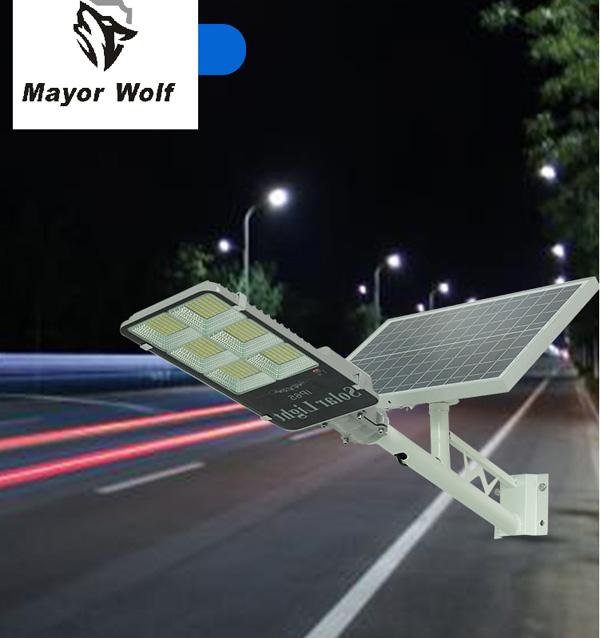 Đèn bàn chải năng lượng mặt trời 300W