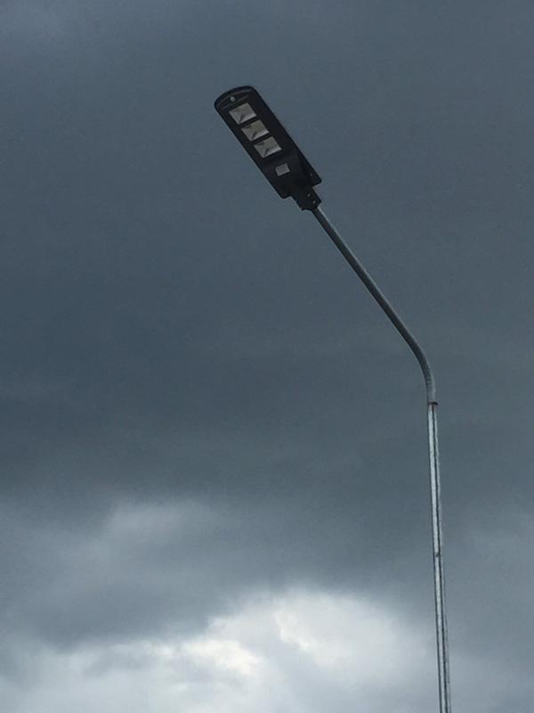 Đèn năng lượng măt trời liền thể 60W