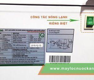 cong tac nonglanhi cay nuoc nong lanh kangaroo KG61A3