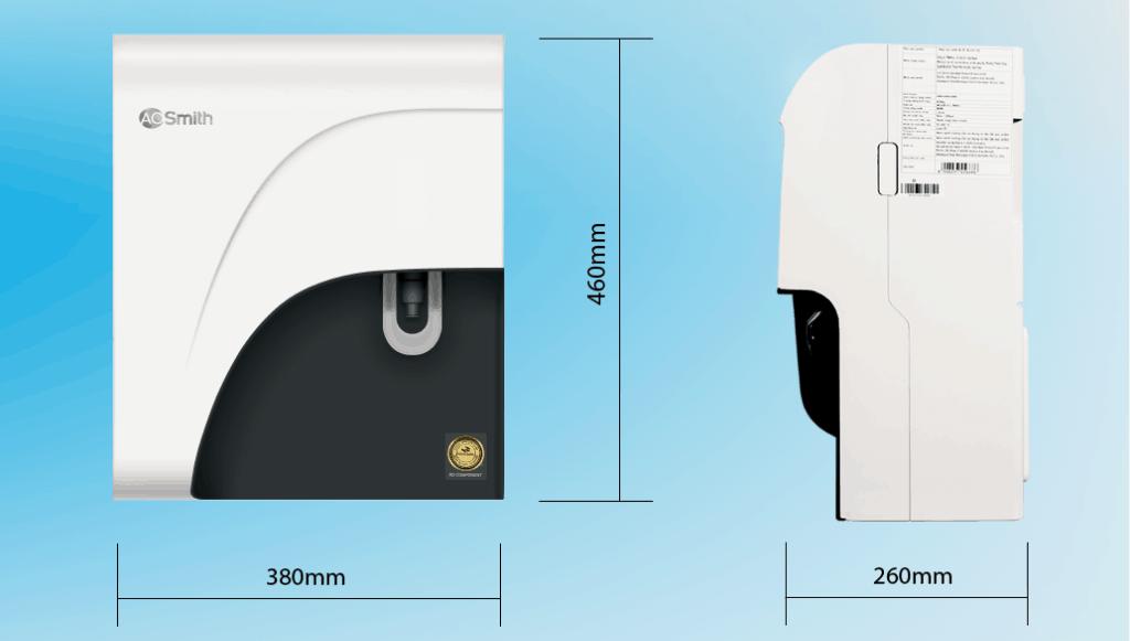 Máy lọc nước RO – Side Stream A. O. Smith C1
