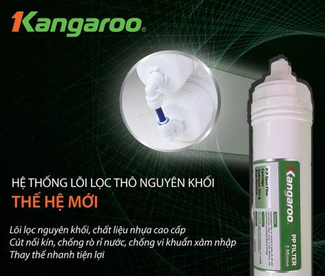 Máy lọc nước Kangaroo Hydrogen 2 vòi KG100HK