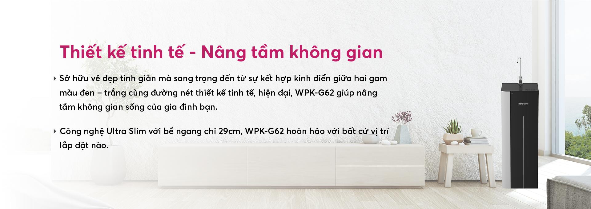 Máy lọc nước Korihome WPK-G62