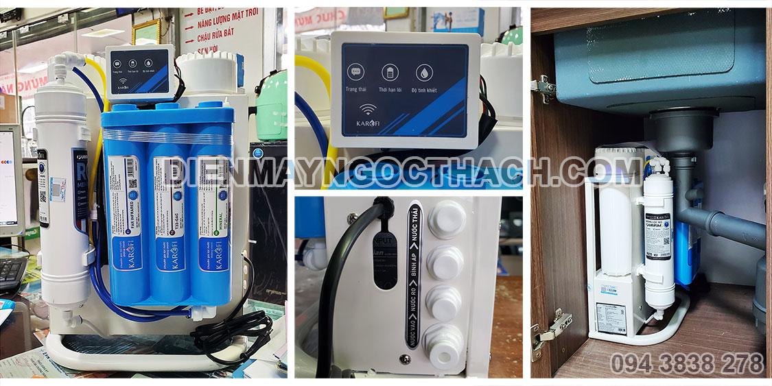 Ảnh thực tế máy lọc nước Karofi KAQ-U95