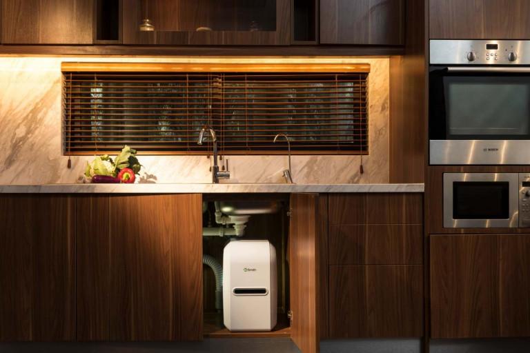 Xu hướng thiết kế bếp hiện đại, tối giản trong căn hộ chung cư