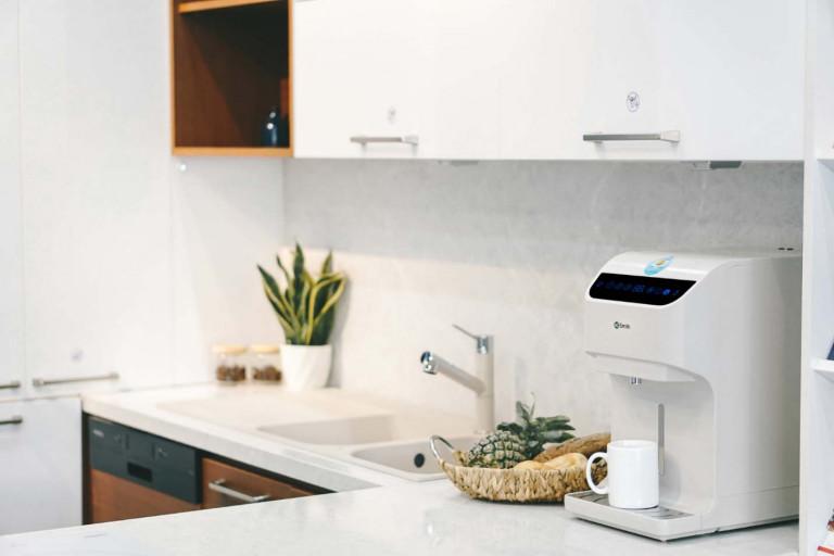 Máy lọc nước kích thước nhỏ gọn, lắp đặt dễ dàng được ưu tiên lựa chọn cho căn hộ chung cư