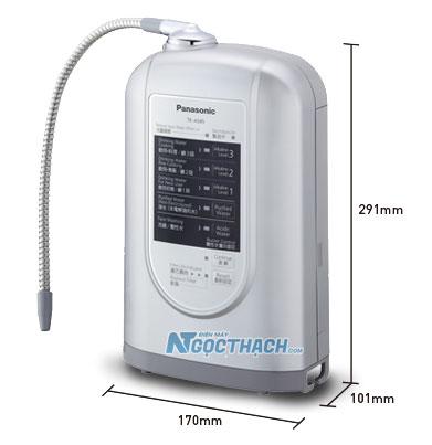 Kích thước May Loc Nuoc Kiem Panasonic Tk As45