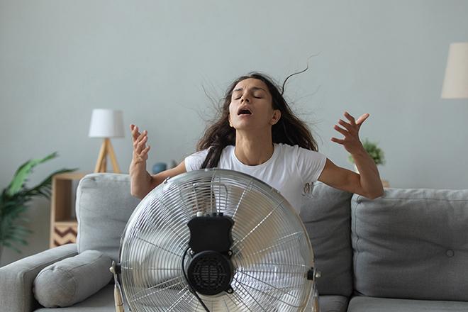 Những sai lầm khi sử dụng quạt điện làm mát