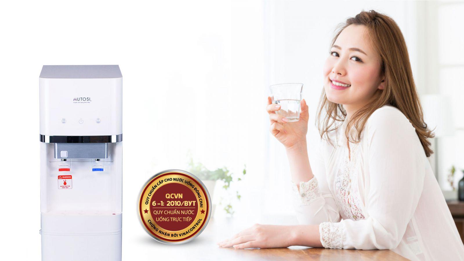 Cây nước nóng lạnh Mutosi MD-450RO