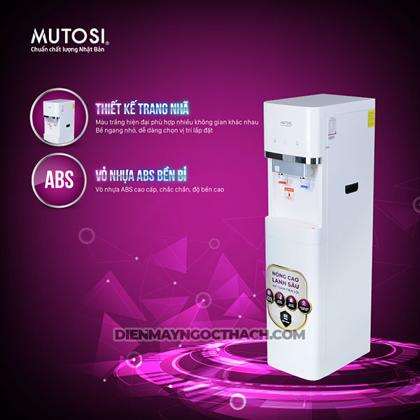 Cay Nuoc Nong Lanh Mutosi Tich Hop Ro Md 450ro 5