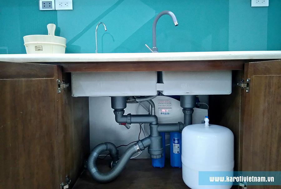 Máy lọc nước RO Karofi 9 lõi