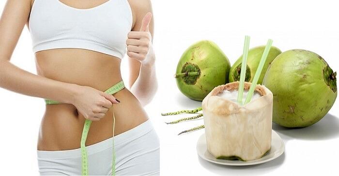Uống nước dừa có giảm cân hay không
